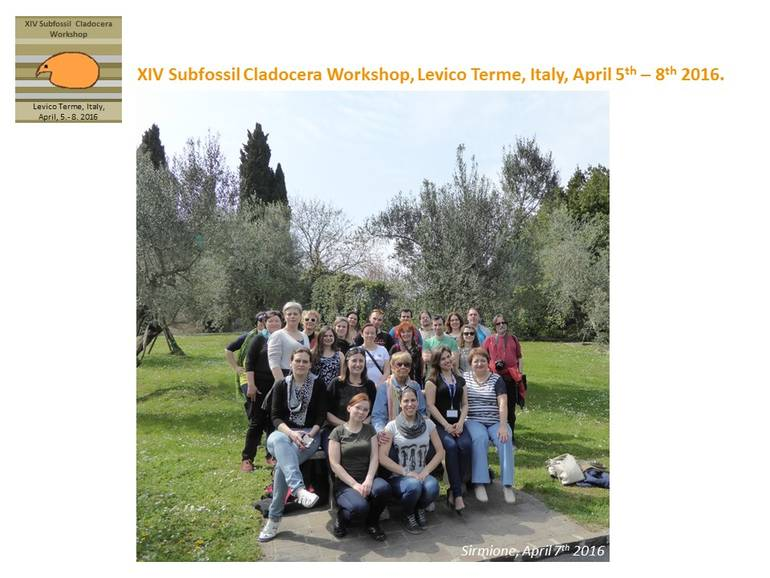 XIV Subfossil Cladocera Workshop
