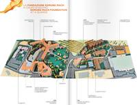 Campus map of Fondazione Mach