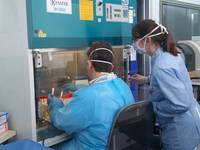 foto APSS - laboratorio microbiologia S.Chiara e tamponi Covid - 3