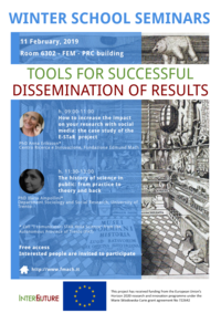 tools for successful dissemination of results