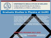 N. 1 (one) PhD Scholarship in Physics co-sponsored by FEM through a collaborative project between University of Milan and Universtity of Otago - dea...